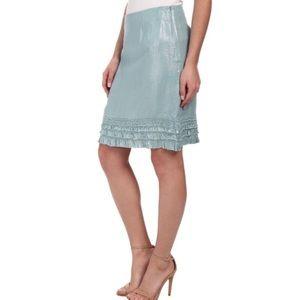NEW Tommy Bahama Ferrin Foil Skirt Heavenly peace